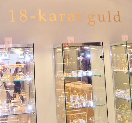 18 karat bladguld guld skilt skiltefabrikken københavn østerbro carat copenhagenskilte