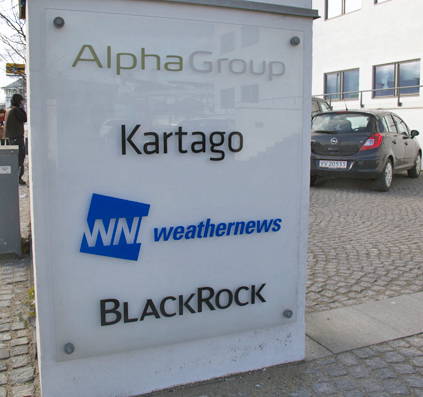 alpha_group kartago weathernews blackrock pylon skilt skilte skiltefabrikken
