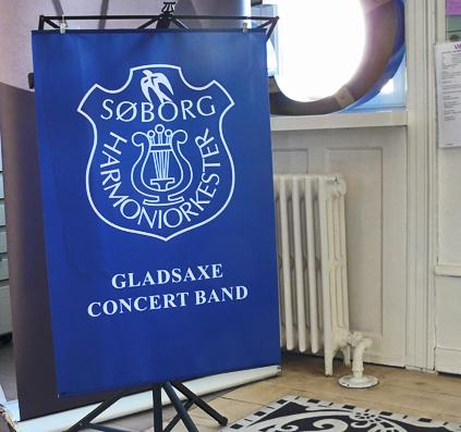 banner noder nodestativ skilt skiltefabrikken københavn blå gladsaxe søborg concert band