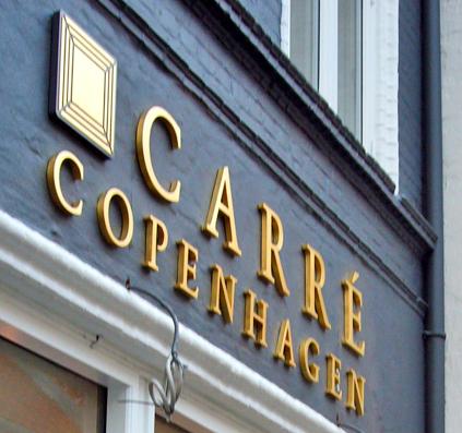 carre copenhagen facadebogstaver