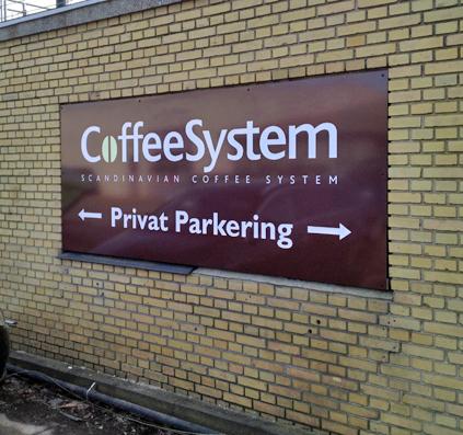 coffee system emalja skilt skiltefabrikken københavn