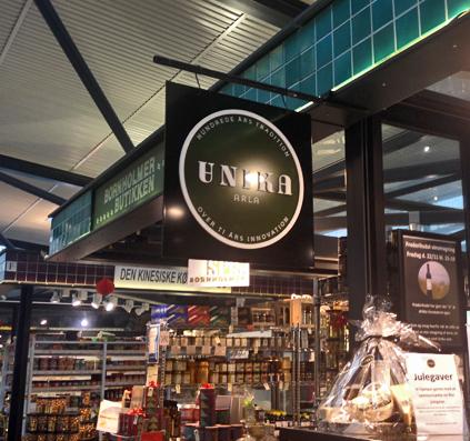 galge unika torvehallerne arla skilt skiltefabrikken københavn skiltning logo