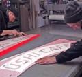 montering skiltefabrikken eget værksted skære tilpasse