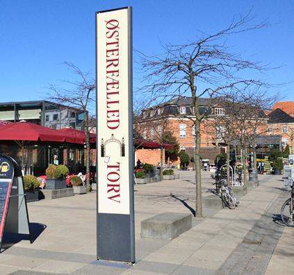 østerfælled torv østerbro københavn copenhagen skilt skiltefabrikken pylon
