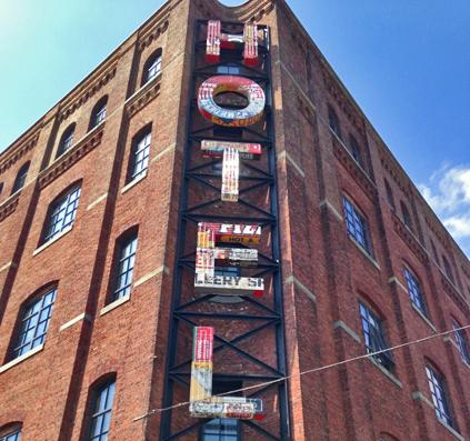 bogstaver letter hotel usa williamsburg mønster skilt skiltefabrikken københavn copenhagen østerbro