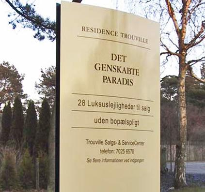 pylon skilt trouville skilte skiltefabrikken københavn østerbro paradis